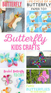 butterfly kids crafts and activities the crafting