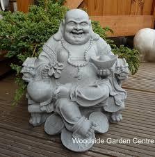 enigma wealthy sitting buddha garden ornament woodside garden