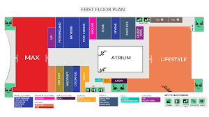 Clothing Store Floor Plan by One Awadh Center Premium Shopping Mall In Lucknow Best Place
