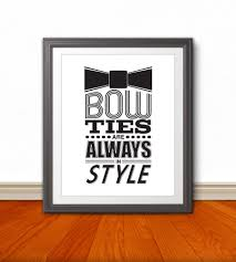 In Style Home Decor Bow Ties Are Always In Style Bow Ties Style Home Decor Fashion