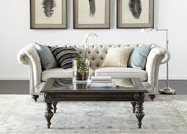 furniture tufted ethan allen sofas with wall decorating also