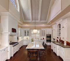 kitchen kitchen lighting vaulted ceiling table accents