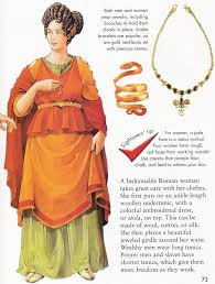 jewelry clipart ancient roman woman pencil and in color jewelry