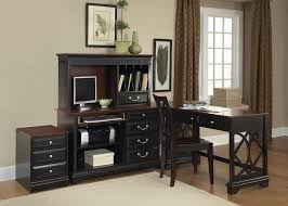 Black Corner Desk With Drawers Corner Desk With Hutch And Drawer Best Corner Desk Hutch For