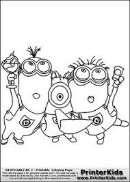 despicable margo edith agnes coloring pages kid stuff
