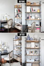 organizing a home office before u0026 after the everygirl