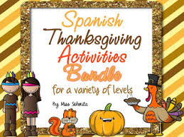 miss señorita thanksgiving activities in the classroom