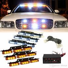 strobe light installation truck 54 led truck car vehicle strobe warning light lightbars for deck
