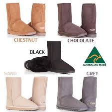 australian made ugg boots genuine sheepskin non
