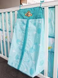 Diaper Stackers Under Sea Applique Baby Nemo 8 Piece Crib Bedding Set Include