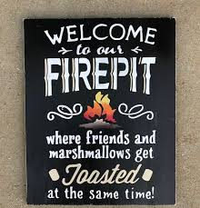 Firepit Signs Custom Wood Decor Cary Nc Ajm Interiors Decor Diy Paint Workshop