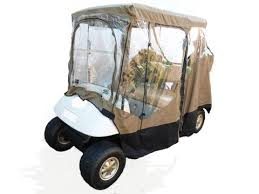 golf cart enclosures with magnetic door replaces zippers to enter