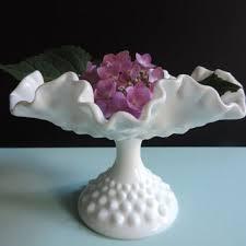Pink Milk Glass Vase Best Hobnail Milk Glass Vase Products On Wanelo