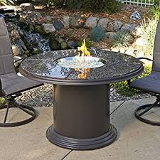 48 Inch Fire Pit by Amazon Com Outdoor Great Room 48 Inch Dining Table With British