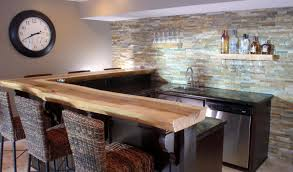 bar fetching modern bar counter designs for home design with