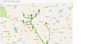 Google Map Route by Google Map Route Data Save With C Stack Overflow