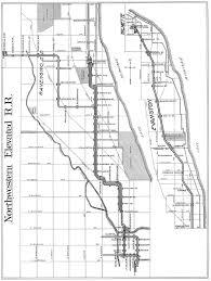 Chicago City Train Map by Chicago U0027 U0027l U0027 U0027 Org System Maps Track Maps