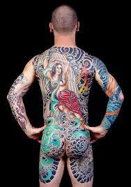 winner best backpiece seattle tattoo convention 2014 mike barker