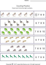 counting sets worksheets worksheets
