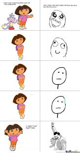 Meme Comics Generator - dora by nbur4556 meme center
