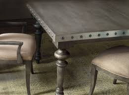 Dining Table Leaves Hooker Furniture Dining Room Vintage West Rectangle Dining Table W