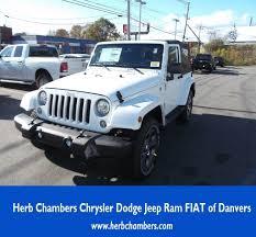 first jeep wrangler ever made new 2018 jeep wrangler jk sahara 4x4 for sale in danvers u0026 boston