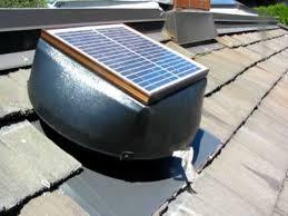 solar powered attic vent avi youtube