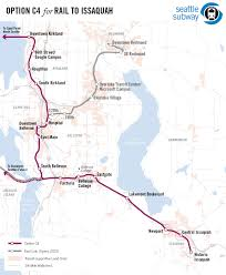Vasco Da Gama Route Map by Seattle Eastside Rail Transit Expansion Proposals Unofficial