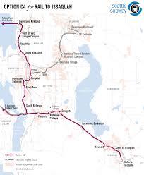 Phoenix Light Rail Map Seattle Eastside Rail Transit Expansion Proposals Unofficial