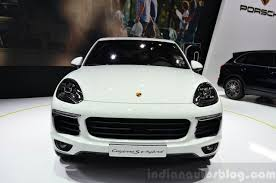 2015 porsche cayenne s e hybrid front indian autos blog