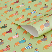 dachshund wrapping paper larry the dachshund wrapping paper kilvertmary kilvert