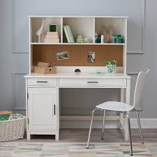 White Writing Desk With Hutch by Classic Playtime Bennington Desk With Optional Hutch And Bookcase