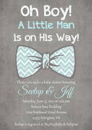 Blue Gray Oh Boy Little Man Light Tiffany Blue Gray White Bow Tie Baby Boy