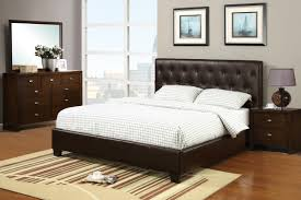 Black Leather Headboard Bedroom Set Bedroom Captivating Queen Size Bed Frames For Bedroom Furniture