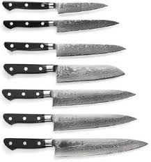 couteaux de cuisine couteau de cuisine japonais tojiro damascus pro