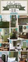 color series decorating with olive teal decorating and house