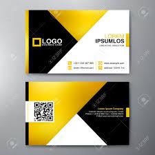 Membership Cards Design Modern Business Card Design Template Vector Illustration Royalty