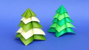 sapin de noël en origami très facile et très rapide tuto diy