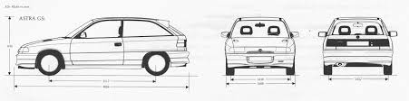 opel astra gsi blueprint download free blueprint for 3d modeling