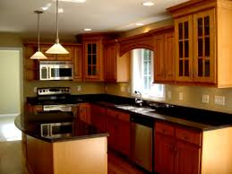 home kitchen design with modern kitchen appliances and from