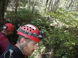 caving helmet with light zebralight h600 mk ii reviews trailspace com