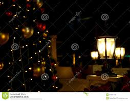 moonlight outdoor lighting christmas tree lights background outdoor light stock photo image