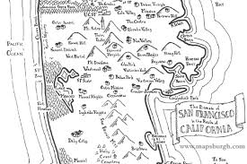 Muni Map San Francisco by Awesome Maps Depict The Bay Area As A Colony Of Middle Earth