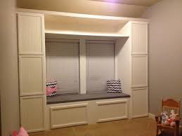Under Window Storage Bench by Walls Under Construction Diy Built In Reading Nook Storage Bench