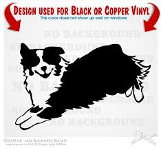 australian shepherd jumping custom australian shepherd dog decals u0026 stickers nickerstickers