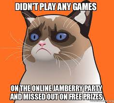 Make A Meme Online Free - didn t play any games on the online jamberry party and missed out on