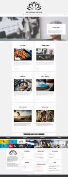 no sidebar lotos simple theme by excellent dynamics themeforest