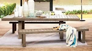 portside expandable dining table o v2 destination summer patio table