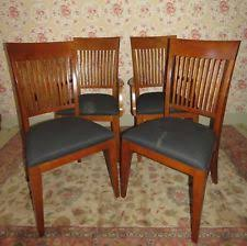 mission style dining room arts crafts mission style dining chairs ebay