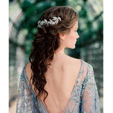 coiffure mariage cheveux lach s coiffure mariage cheveux mi avec diademe coiffures modernes